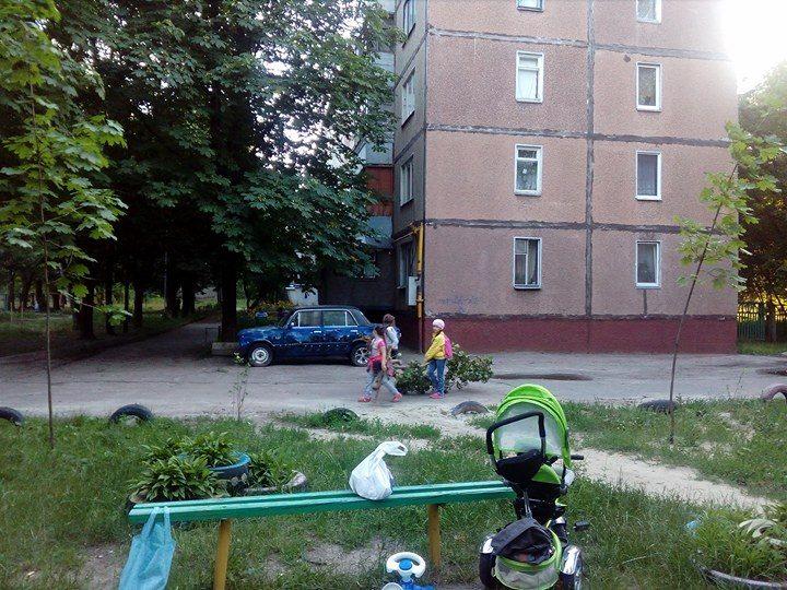 Роботу комунальників виконують діти (Фото)