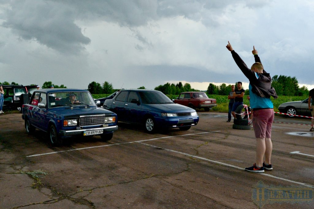 На Ніжинщині пройшли автоперегони (Фото)