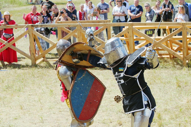 У Чернігові лицарі зійшлися в двобоях (Фото)