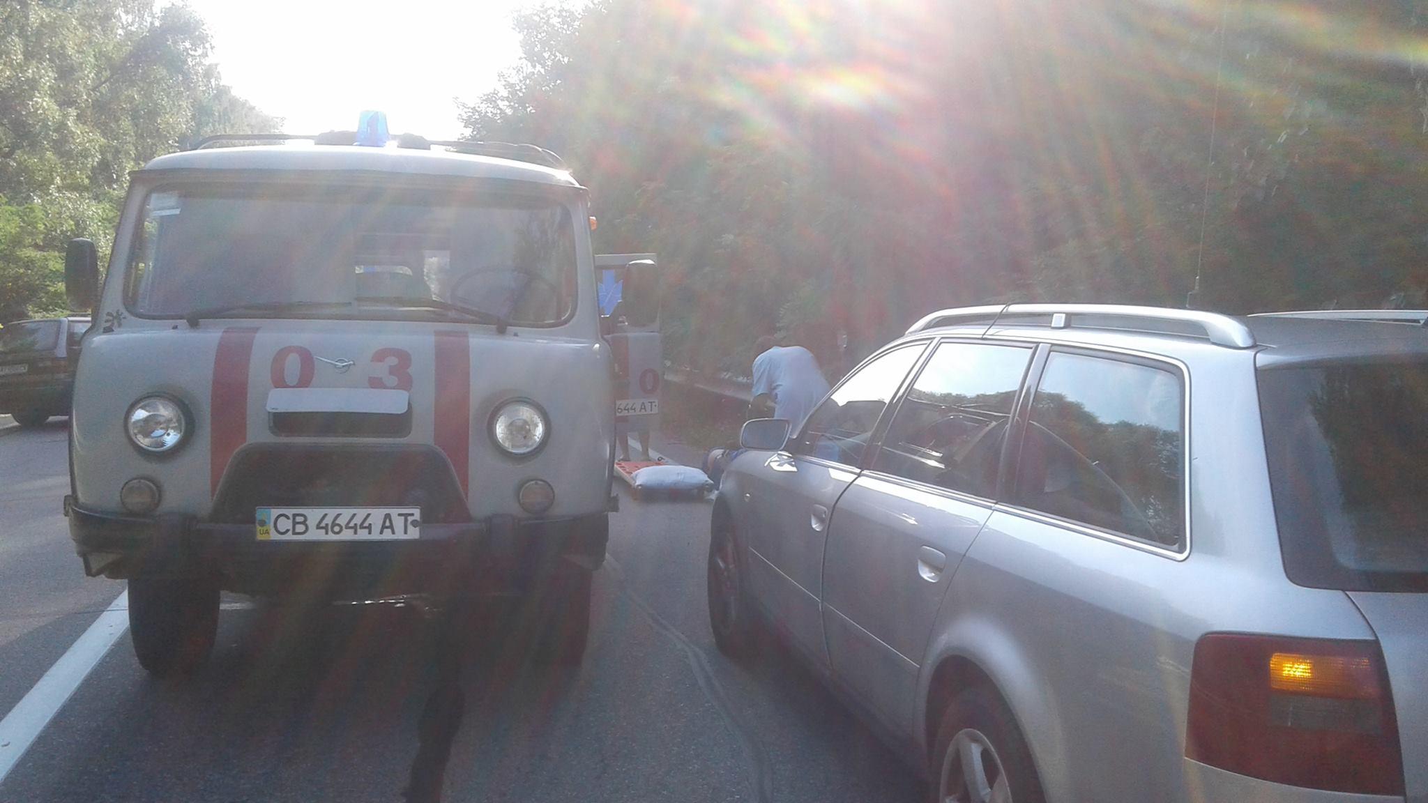 Під Черніговом сталася страшна ДТП – 5 постраждалих (Фото)