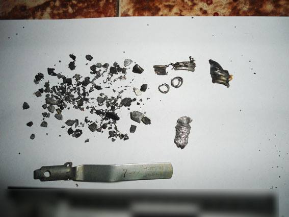 Подробиці вибуху у Редьківці (Фото)