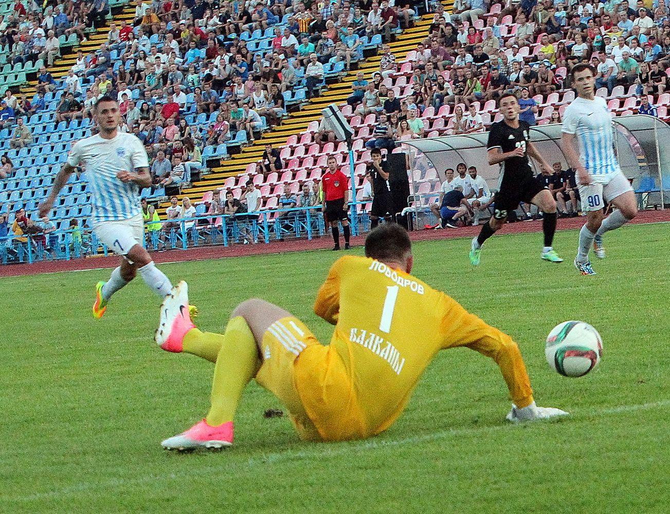 Футбол у світлинах: матч «Десна – Балкани» (Фоторепортаж)