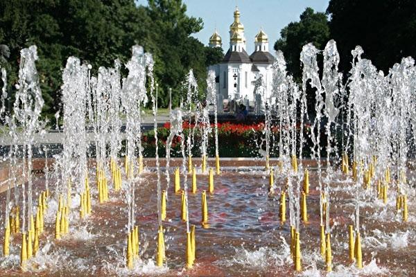 Чернігівські фонтани