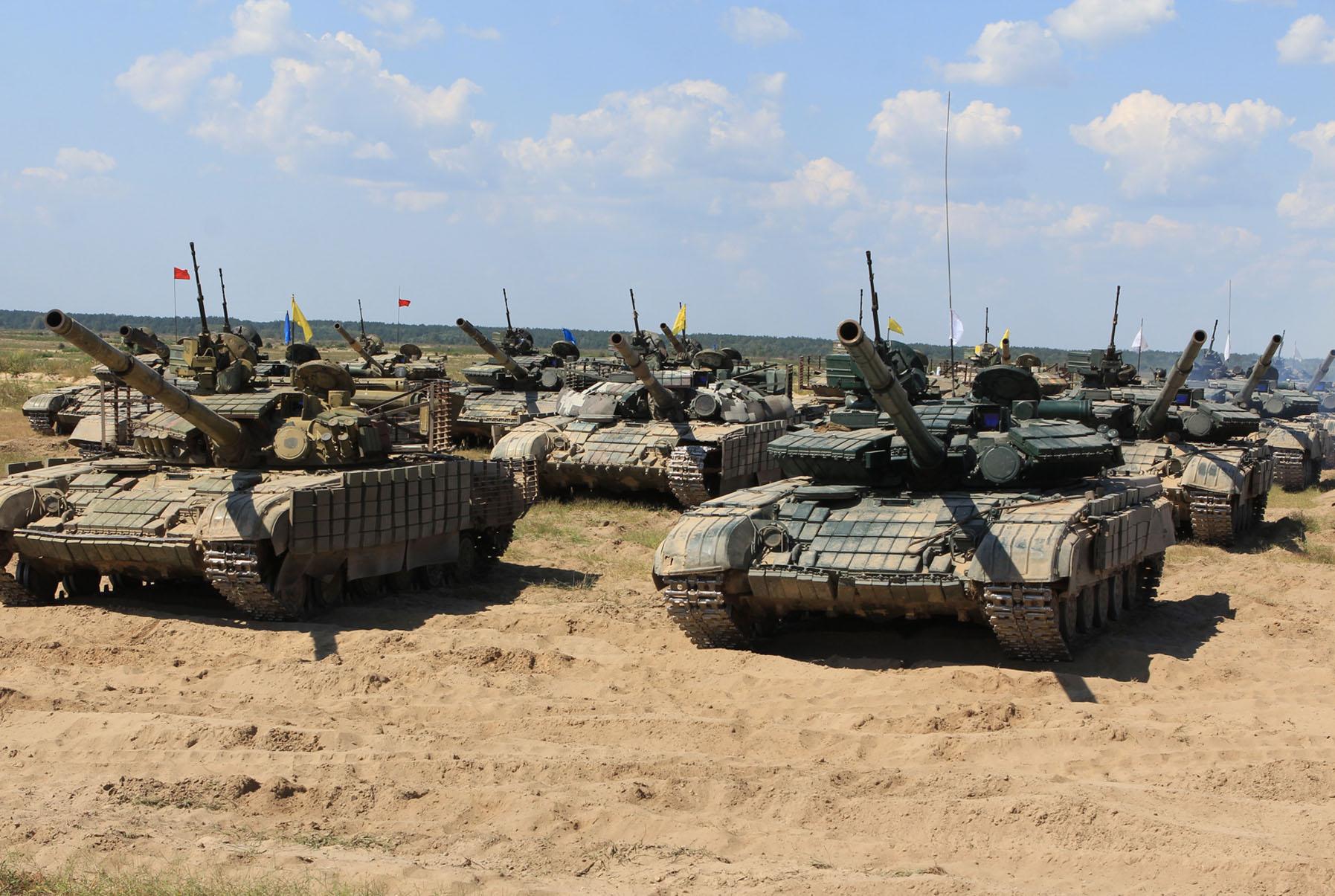 Сухопутні війська позмагалися за першість на Чернігівщині (Фото)