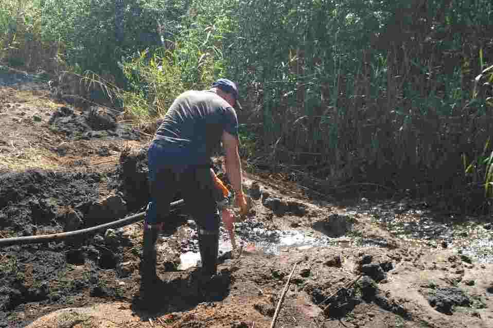 Наслідки необережності: на Чернігівщині загорівся торф (Фото)