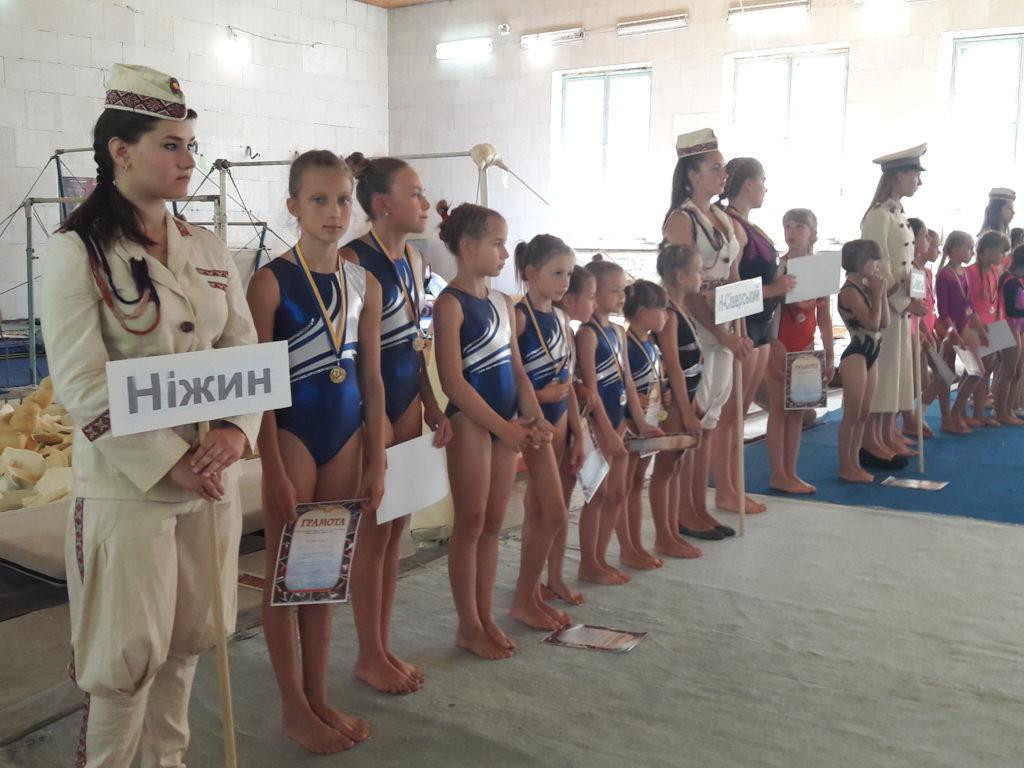 Спортивні гімнастки збирались у Сновську (Фото)