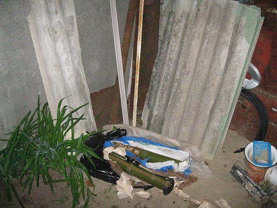 Ніжинець зберігав вдома дві реактивні протитанкові гранати (Фото)