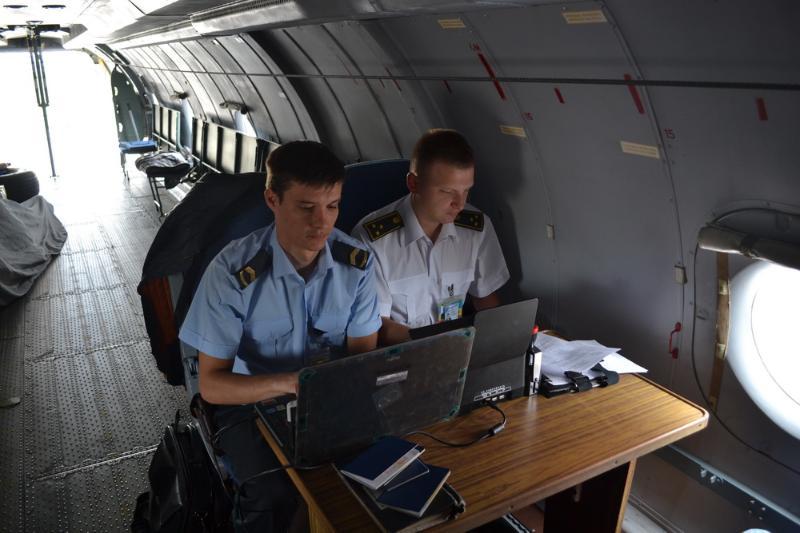 Літак ніжинського авіазагону гасив пожежу в Грузії