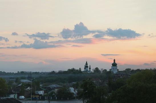 Панорама вечірного Валу