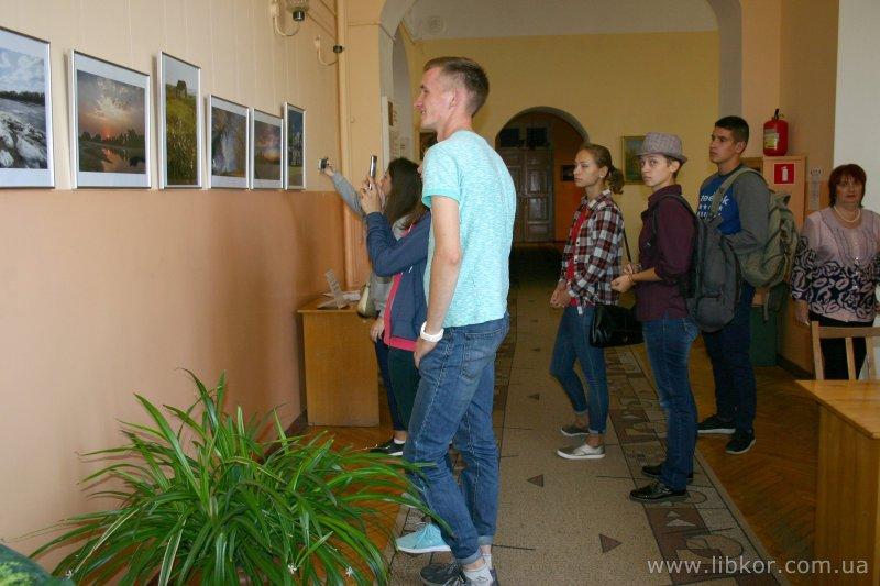 У бібліотеці Короленка відкрилась виставка подарованих світлин