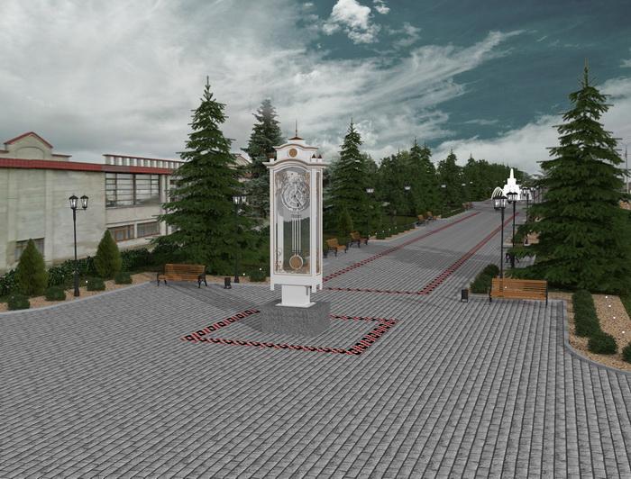 Ніжинцям показали, який вигляд може мати головна площа міста після реконструкції (Фото)