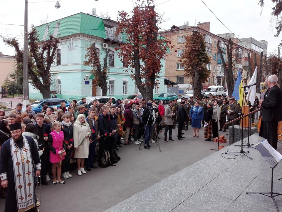 У Чернігові відкрили меморіальну дошку двом Героям (Фото)