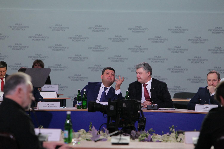Відбулося засідання Ради регіонального розвитку (Фото)