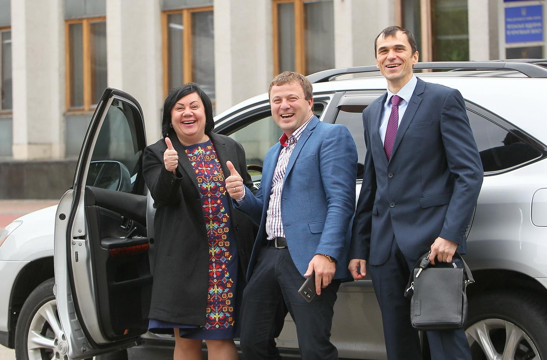 У Чернігові юристів привітали з професійним святом (Фоторепортаж)