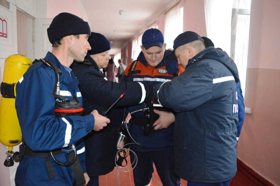 Рятувальники розповіли про виклик до школи № 1