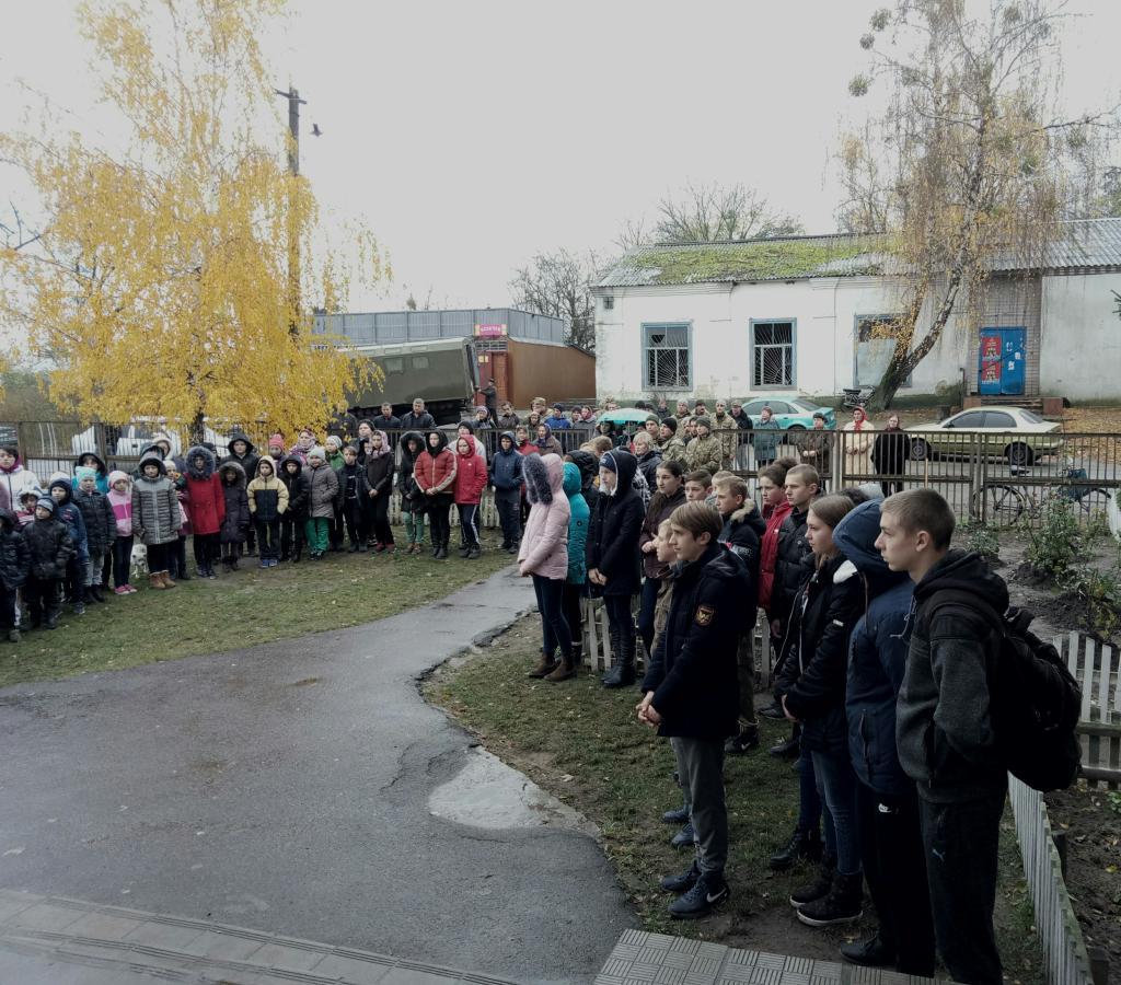 Загиблому Герою з Чернігівщини відкрили меморіальну дошку