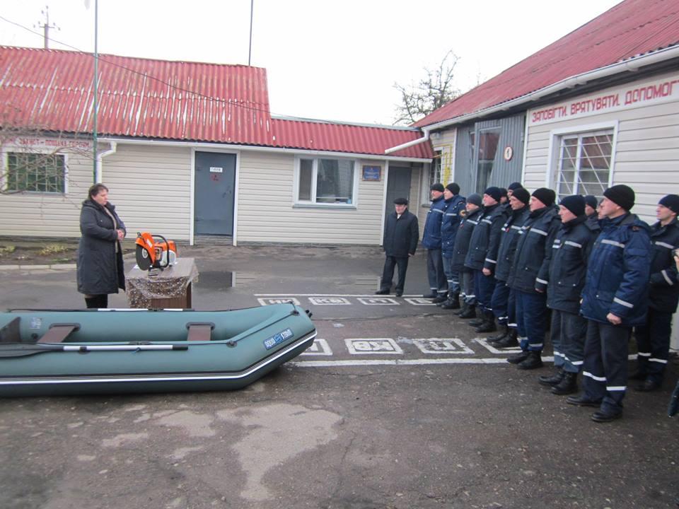 Варвинські рятувальники з новою технікою (Фото)