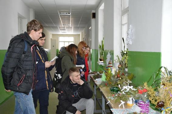 У Чернігові презентували «Зимовий букет замість ялинки» (Фото)