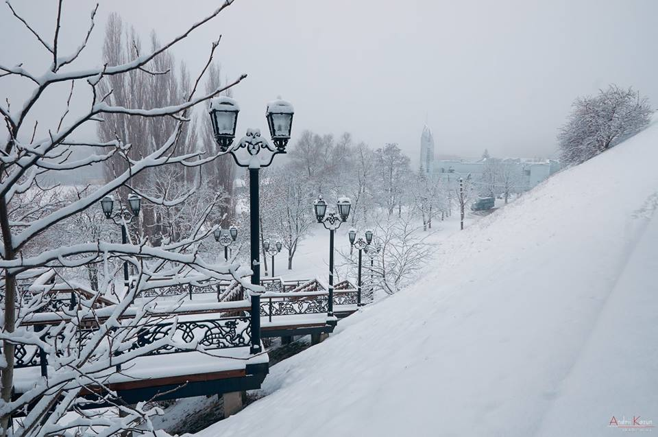 Неймовірний ранок у Чернігові (Фоторепортаж)