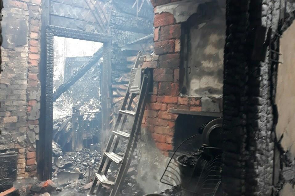 На Чернігівщині  під час пожежі загинула 79-річна жінка (Фото)