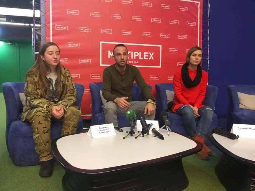 Фільм про співака, який воював в АТО, презентували у Чернігові