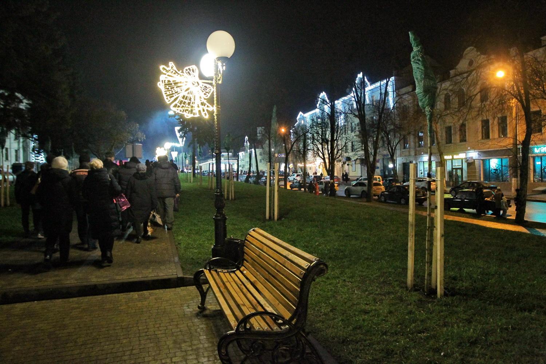 Різдвяний «движ» у центрі Чернігова (Фоторепортаж)