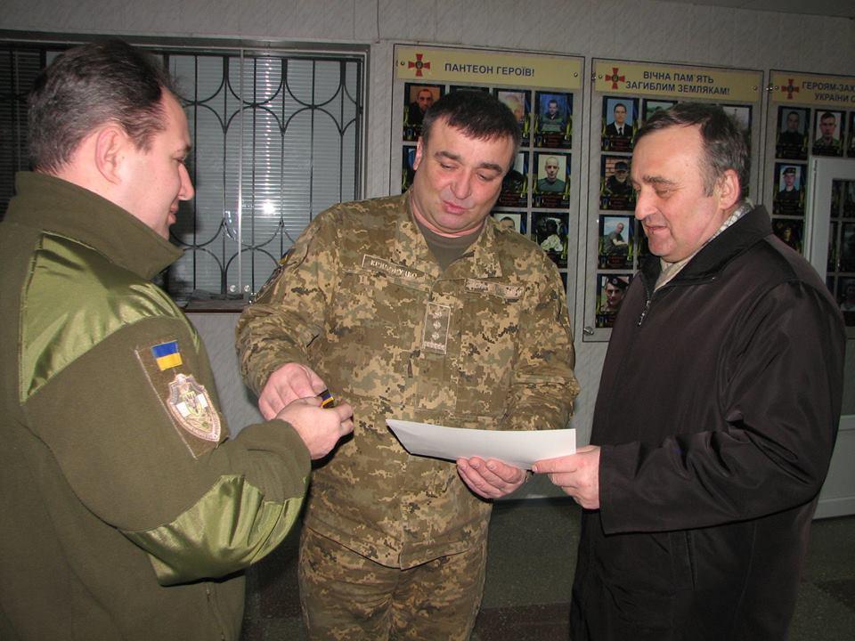 Правнук письменника Михайла Коцюбинського отримав Президентську відзнаку