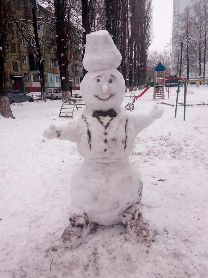 Сніговики атакують – «флешмоб» чернігівців  (Фото)