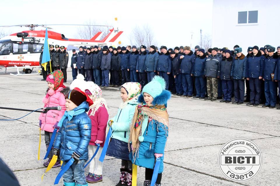 Ніжинський авіазагін «провів генеральну репетицію» до ювілею (Фото)