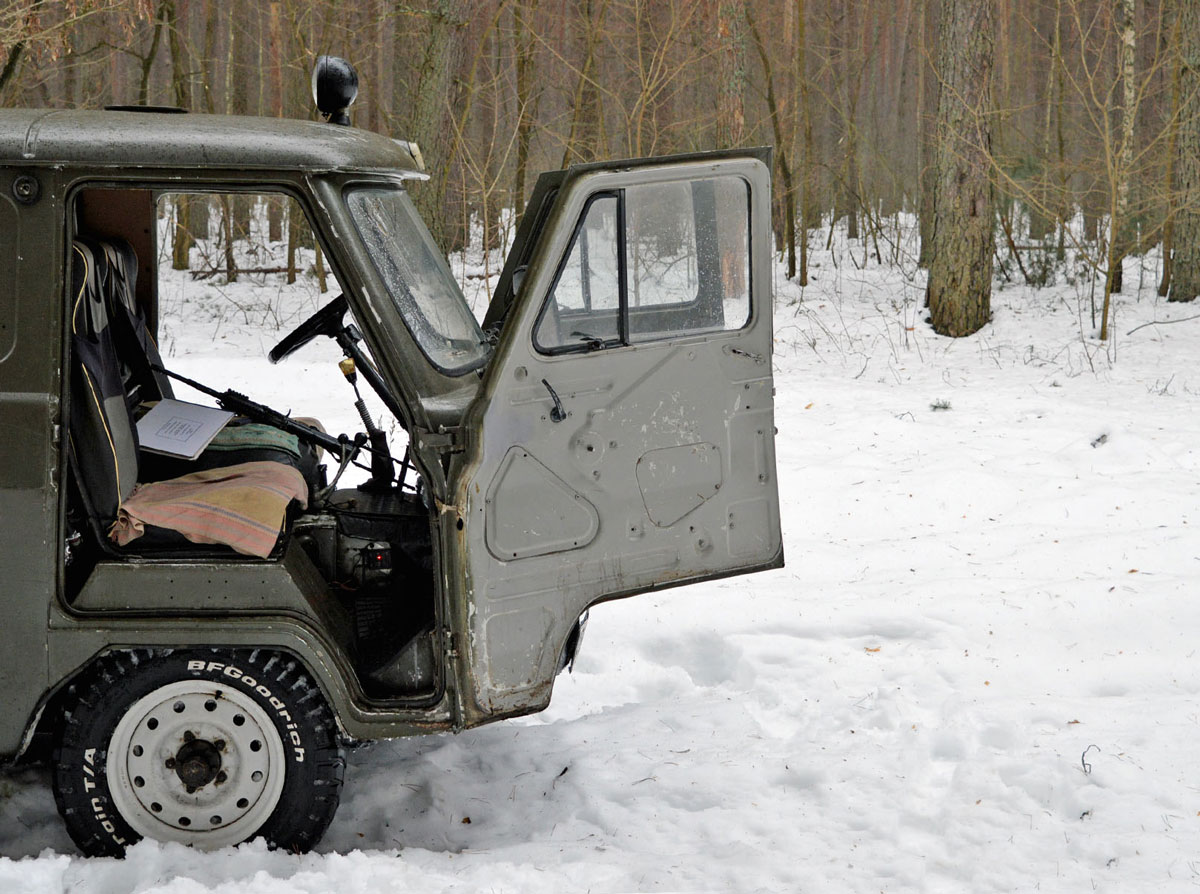 На Чернігівщині лісівники організовують їдальні для тварин