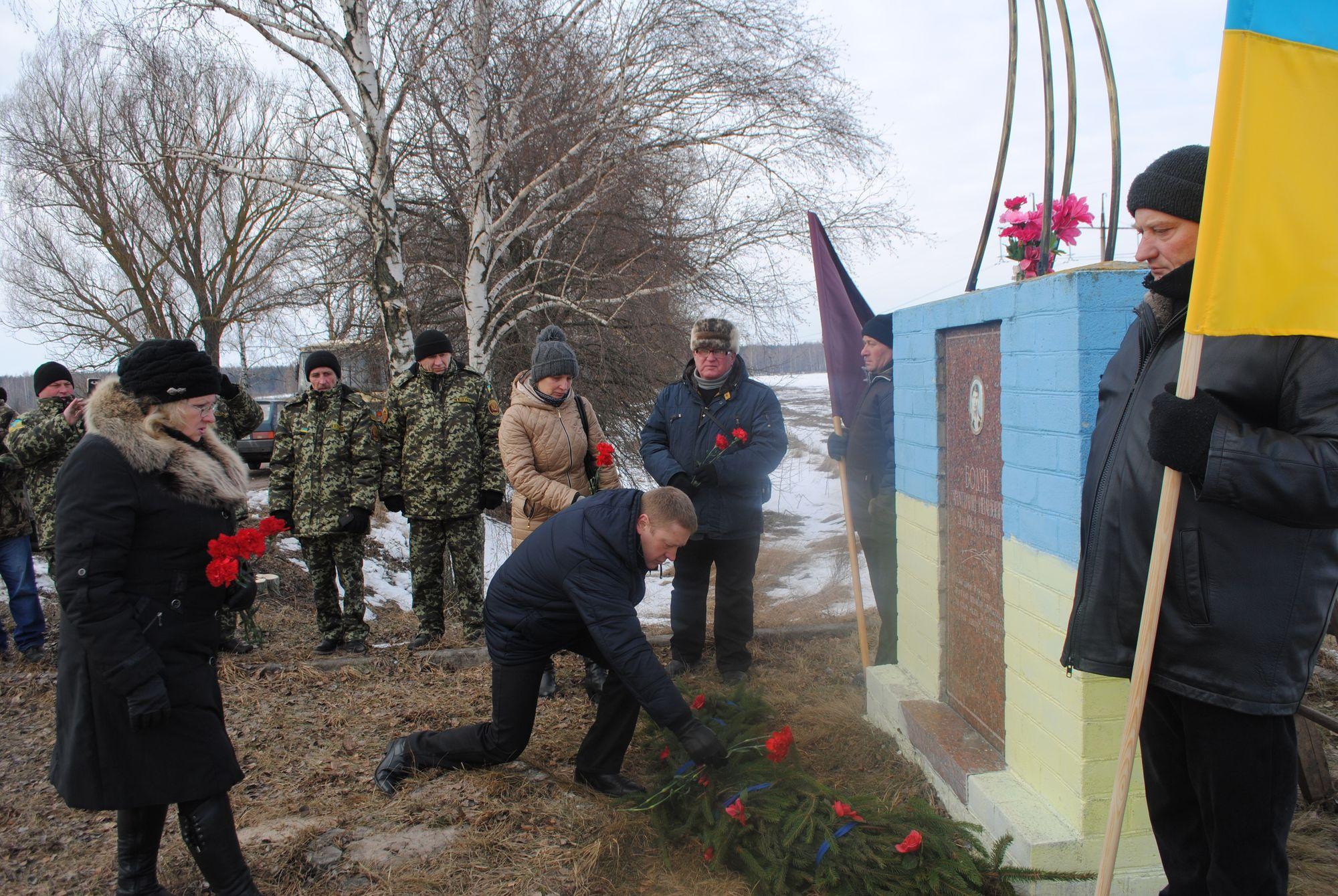 Відновлено та встановлено пам'ятний знак загиблому афганцю (Фото)