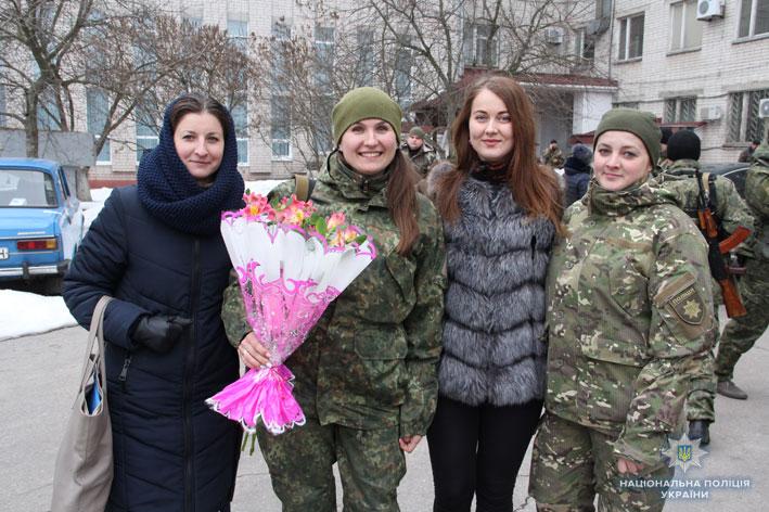 """Рота поліції """"Чернігів"""" повернулася із зони проведення операції об'єднаних сил"""