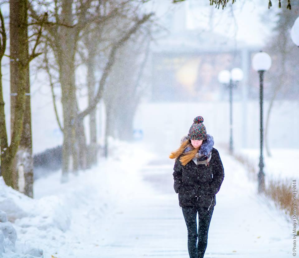 Засніжений чернігівський березень (Фото)