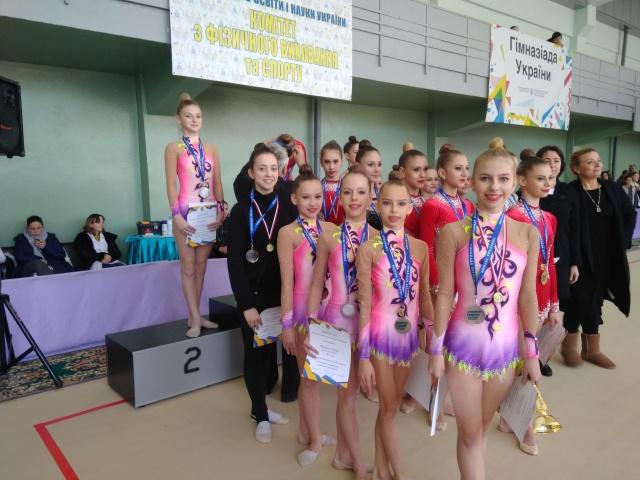 Чернігівські гімнастки успішно виступили на Гімназіаді у Чернівцях (Фото)