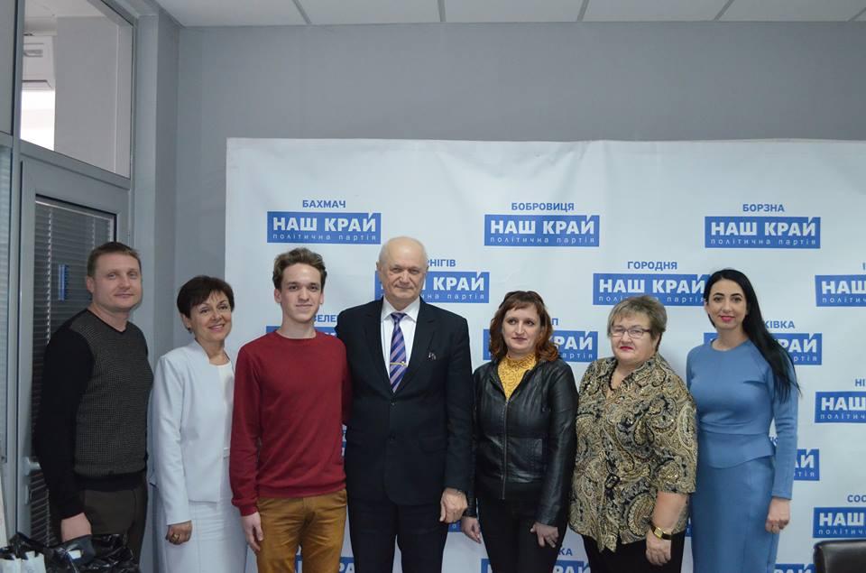 У Чернігові депутати підтримали випускника (Фото)