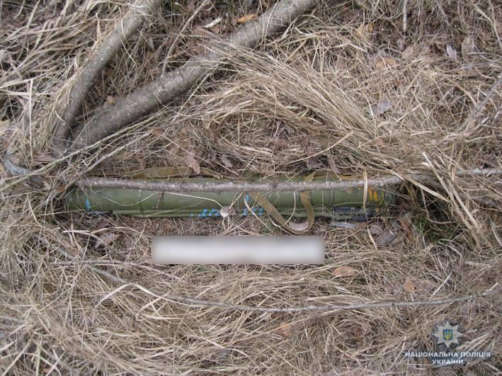 На Чернігівщині поліція ліквідувала схрон боєприпасів