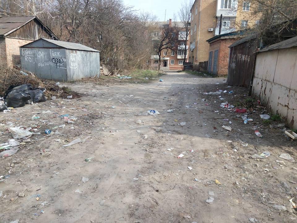 Околиці Прилук у смітті (Фото)