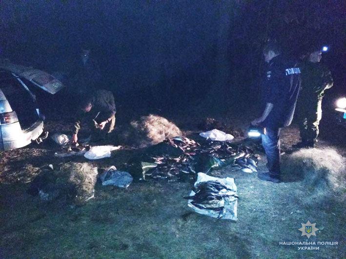 Водна поліція Чернігівщини затримала трьох браконьєрів (Фото)