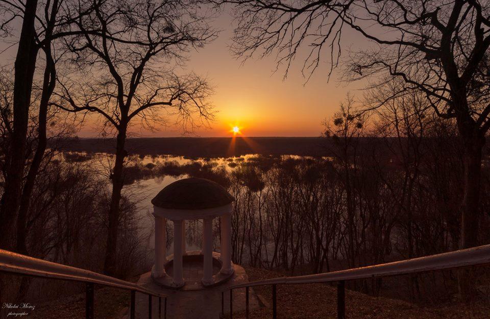 Седнівські краєвиди на світанку (Фото)