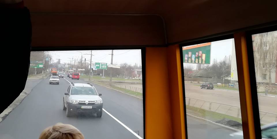 Зранку проїзд в Яцеве був безперешкодним (Фотофакт)