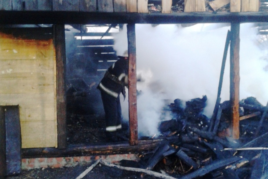 На Чернігівщині 5-річний «господар» спалив хату (Фото)