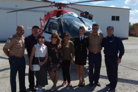 Військовий авіазагін Ніжина прийняв делегацію з Бразилії