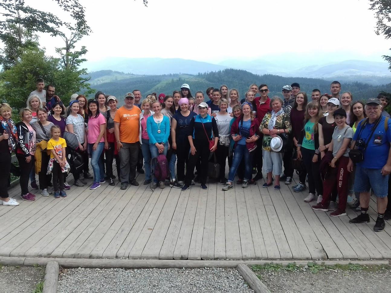 73 учні з Чернігівщини підкорили Говерлу (Фото)