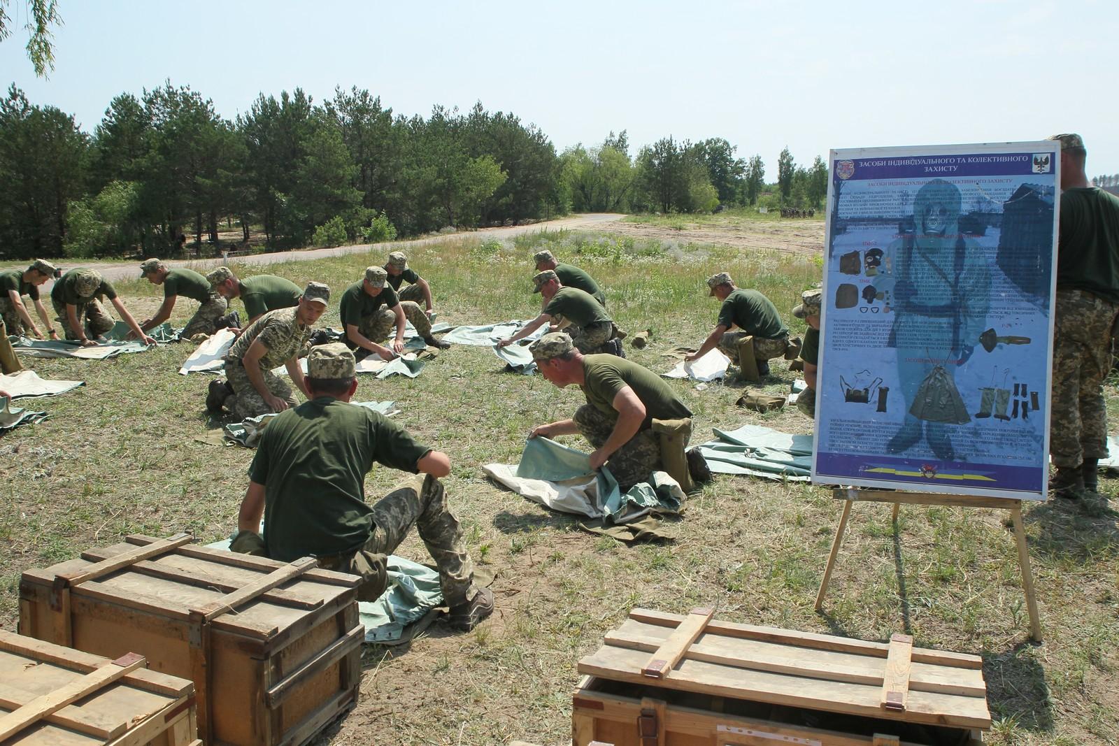 На Чернігівщині тривають військові збори резервістів (Фото. Відео)