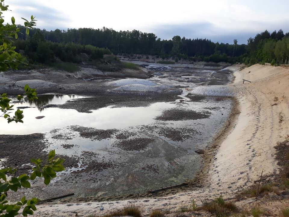 На Чернігівщині знищують озеро (Фото)
