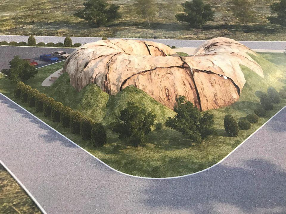 Велетенський равлик біля Катеринки: у Чернігові презентували проект туристично-інформаційного центру (Фото)