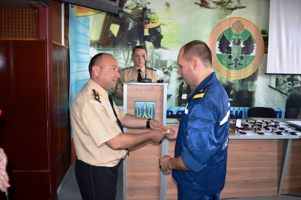 На Чернігівщині відзначили кращих рятувальників