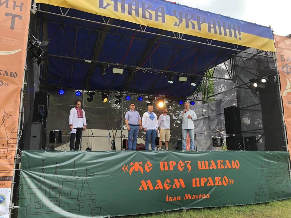 У Батурині в розгарі козацьке свято (Фото)