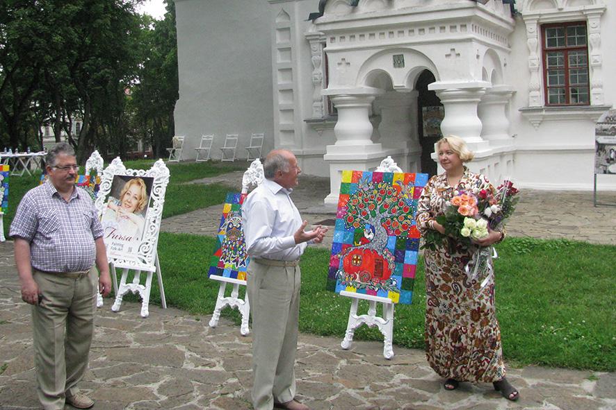 На Валу відкрилась виставка у стилі фолк арт (Фото)