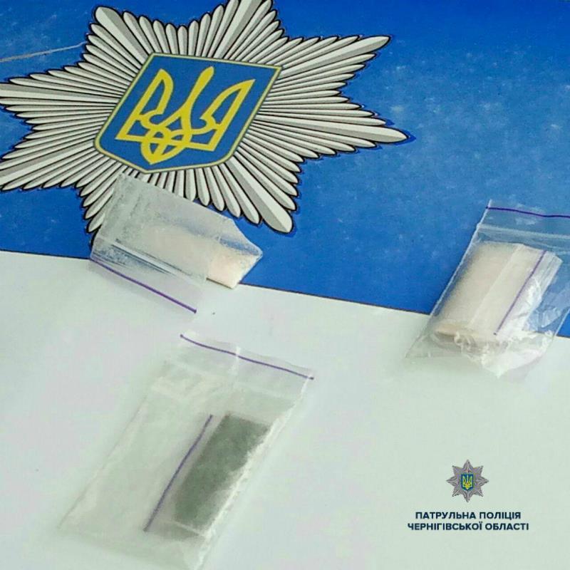 Черніговом роз'їжджав водій з ознаками наркотичного сп'яніння (Фото)